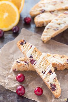 Orange Cranberry Biscotti is a perfect flavor combo and makes a delightful and delicious holiday gift!