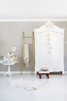white/baroque style closet.  The shutterbugs: hans mossel / sfgirlbybay