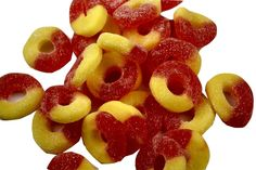 Gummi RingsPeach | Jerry's Nut House #candy #sweets