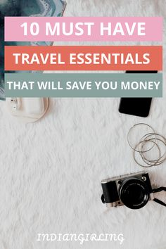 Our love for travel can sometimes be hindered by small annoyances that one never plans ahead for. Read on to find the 10 Travel Accessories I never leave home without, and neither should you! Travel Advice, Travel Guides, Travel Hacks, Amazing Destinations, Travel Destinations, Europe On A Budget, Domestic Flights, Camera Tripod, Travel Items