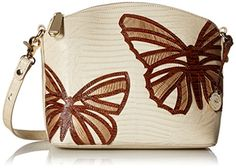 Brahmin Mini Duxbury Cross Body, Vanilla Cream, One Size ** You can find more details by visiting the image link.