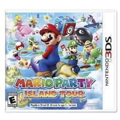 Bring your friends and family together for a rollicking time with Mario Party Island Tour for Nintendo In single player mode or up to 4 players it offers 7 exciting game boards and 80 minigame challenges. Mario Party Island Tour Pre-Owned Nintendo Nintendo 3ds Games, Nintendo 2ds, Nintendo Switch, Playstation, Xbox 360, Donkey Kong, Wii U, Yoshi, Ar Card