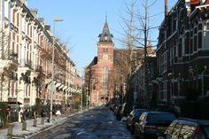 Ooglijdersgasthuis vooraanzicht vanuit de F.C. Dondersstraat!