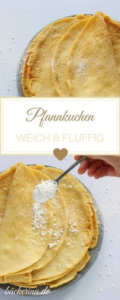 Pfannkuchen Grundrezept für die fluffigsten Pfannkuchen   bäckerina.de