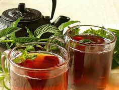 Relieve stomach pain and digestion problems using Mint tea and other Natural Herbs from Nefertiti Co...
