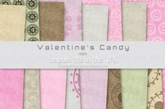 Valentines Candy Bumper Pack on Craftsuprint - View Now!