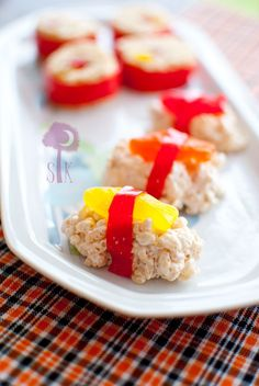 Sassy Candy Sushi - fun for baby shower since mom isn't supposed to be eating raw fish or undercooked meats!!