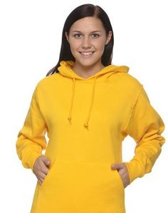 """Jerzees Hooded Sweatshirt - another idea for the """"yellow"""" minions costume"""