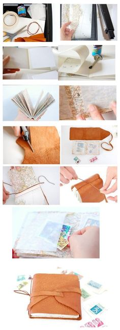 DIY Recorded Journey... This is such a cute idea to remember each trip. Wish I had already been doing this!