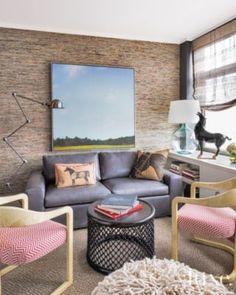 The Study Leather Sofa