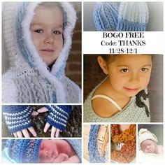 BOGO on #crochetpatterns from #KnitPicknCrochet, through 12/1 only. http://www.ravelry.com/designers/amy-price . Use code: THANKS