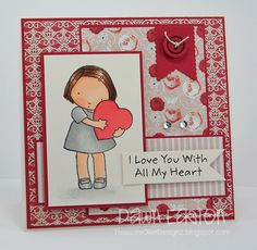 I Love You by TreasureOiler - Cards and Paper Crafts at Splitcoaststampers
