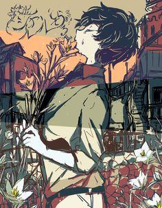 埋め込み Sketchbook Inspiration, Art Sketchbook, Pretty Art, Cute Art, Art Sketches, Art Drawings, Unique Art, Anime Guys, Illustration Art