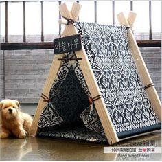 Kennel8 découdre et laver la maison de chien chien nid lit pour chien en peluche vip bichon chenil