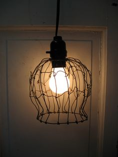 Wire Caged Chaos Lamp