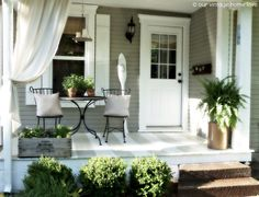 Porches & Sunrooms for Small Spaces