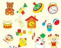 classic toys clip art - Google Search