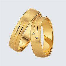 Verighete din aur galben cu design modern. Pot fi realizate din aur alb, aur galben sau aur roz. La cerere sunt posibile şi alte modificări. Aur, Wedding Rings, Slim, Engagement Rings, Bracelets, Modern, Leather, Jewelry, Design