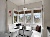 Breakfast nook. Kirkland Tanditional - traditional - kitchen - seattle - by RW Anderson Homes