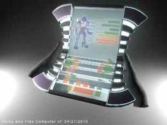 Video of 60 View of the HP Flex: see through screen