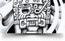 olmec totem tattoo Olmec Water God