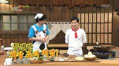 Enjoy Korea with Hui: 'Happy Together Night Cafeteria,' Chef Lee Yeon Bo. Korean Variety Shows, Korean Entertainment, Happy Together, Korean Food, Night, Kitchen, Korean Cuisine