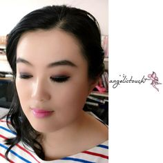 Makeup and Hair Trial 5.27.16 #angelkikicheng #makeupartist #angelictouch_makeupandhair #your_angelskin #hairartist #makeuptrials #hairtrials
