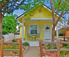 House in Colorado Springs, United States. A special enchanting spot for two to enjoy a relaxing vacation or to celebrate that special occasion!   This romantic Victorian cottage is all about making memories to last a lifetime!!    Home has been featured in Country Living, Tiny Houses, (UR... - Get $25 credit with Airbnb if you sign up with this link http://www.airbnb.com/c/groberts22