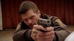 Longmire - Season 1 - Internet Movie Firearms Database - Guns in Movies, TV and Video Games Bailey Chase, Walt Longmire, Internet Movies, Greys Anatomy, American Actors, Season 1, Firearms, Tv Series, Hot Guys