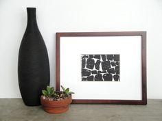 Black and White Block Print | printwork