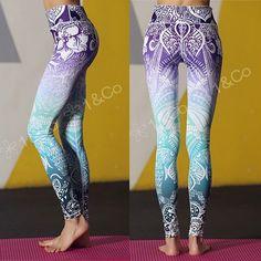 #ペイズリー柄 #ハワイアンアートグラデ レギンス 2499円  http://ift.tt/2jse0EE  #ヨガインストラクター でなくても安くて可愛いデザインの#ヨガウェア を着たいなと思ってこの価格設定 #yoga #yogapants