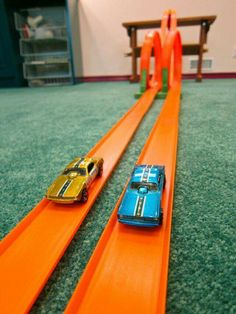 Hot Wheels were my brothers favorite. I hated to see them come out because if I was mischievous my mom would grab a track and whip me with it. Where were the police when I was little. LOL