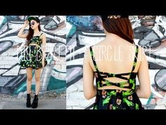 ▶ DIY Bralette & Circle Skirt (Chictopia Dress Giveaway) - YouTube