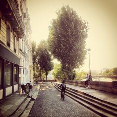 La vie paisible à Paris...