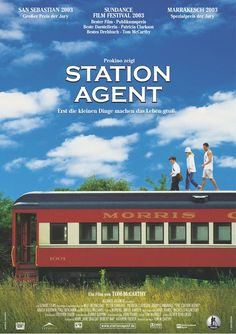 """The station agent"" quiet but lovely movie. Peter Dinklage is always great."