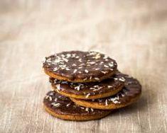 Recette Biscuits granola maison au chocolat au lait et noix de coco