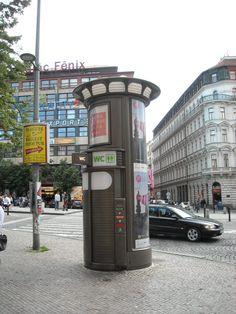 Public restroom..Prague