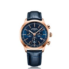 Rotary Mens Analogue Classic Quartz Watch with Leather Strap Gents Watches, Fine Watches, Sport Watches, Rotary Watches, Silver Pocket Watch, Luxury Watches For Men, Vintage Watches, Quartz Watch, Chronograph