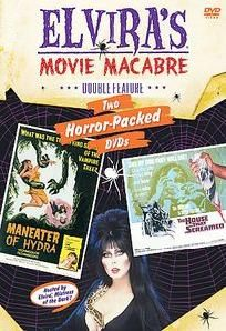 Elvira's Movie Macabre - Maneater of Hydra & The House that Screamed (DVD, 2007)New