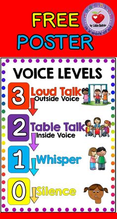 This mini poster contains one page poster with the different numbered voice levels to control the voice levels in class.  This is is part of a bigger product which contains a behavior management reward system.