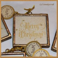 Sandy-Craft Place Cards, Place Card Holders, Christmas, Crafts, Paper, Glass, Weihnachten, Creative, Navidad