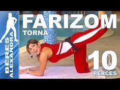Béres Alexandra torna ||  Farizom, popsi gyakorlat  || 10 perc - YouTube