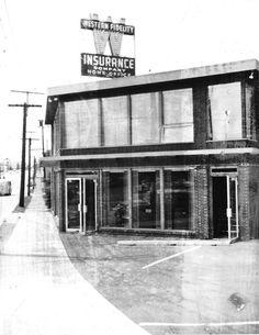A business on Bridge Way in Seattle's Wallingford neighborhood, as seen March 1956. Photo: Seattle Municipal Archive