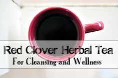 Red Clover Herbal Tea for Cleansing and Wellness