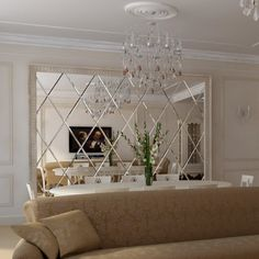 Interior design Wall Mirror Gold Dining Rooms 39 Ideas For 2019 Shadowing Dining Room Wall Decor, Living Room Mirrors, Dining Room Design, Dining Rooms, Mirror Bedroom, Bedroom Decor, Wall Design, Decoration, Home Decor