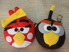 Chaveiro Angry birds  preço unitário faço todos os modelos R$19,90