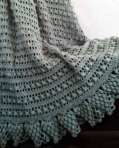 Picture of Garden Lace Afghans Crochet Pattern