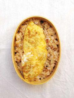 2016年08月31日 オムライスべんとう / Omelette rice bento