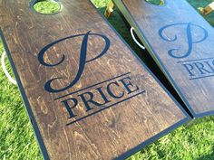 Wedding Cornhole. Thanks Meridith C. for sharing your beautiful set ...