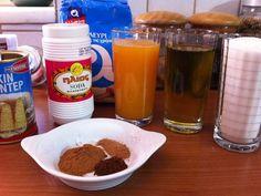 Κουλούρια πορτοκαλιού με λάδι! Ketchup, Pudding, Sweets, Desserts, Recipes, Crochet, Food, Tailgate Desserts, Deserts